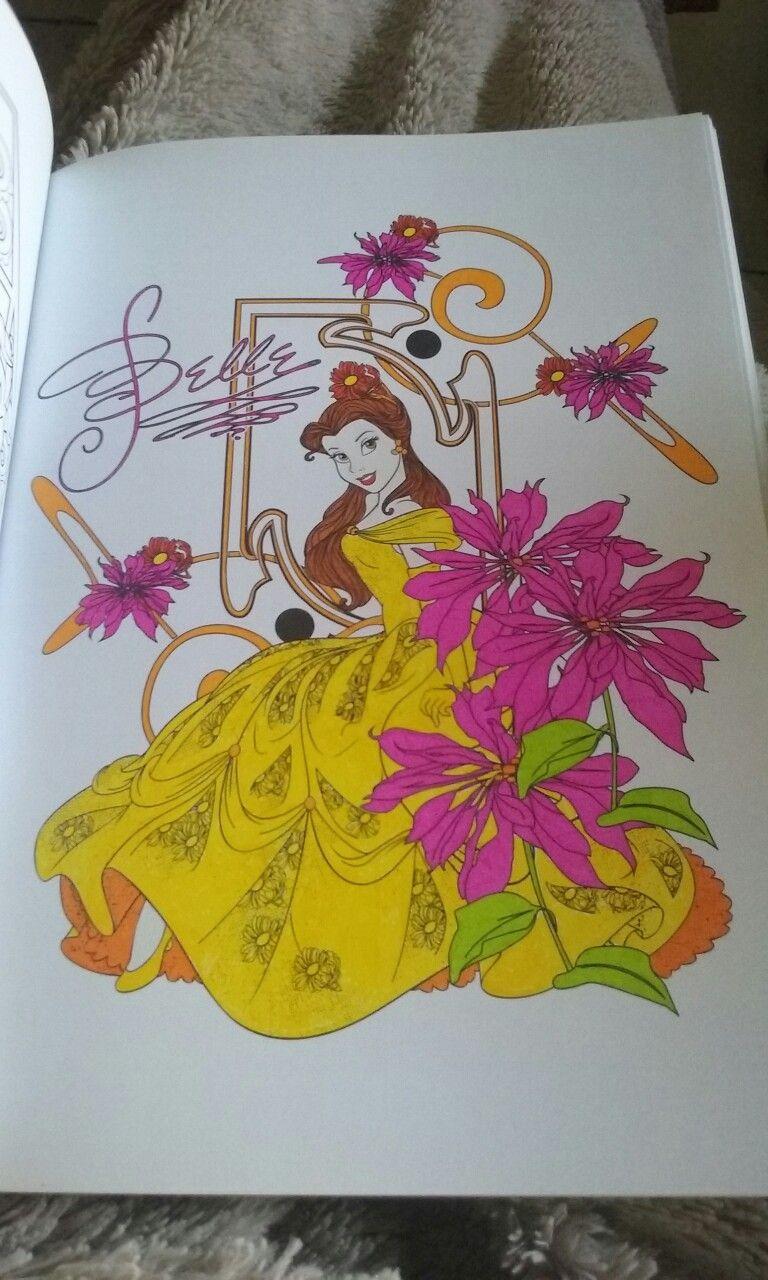 Pin on 18 coloriages Disney Art Déco