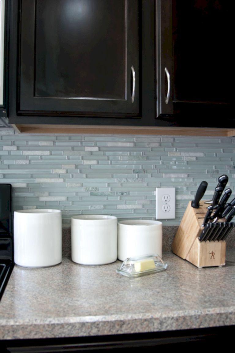 - DIY Kitchen Backsplash Tile With Storage Glass Backsplash