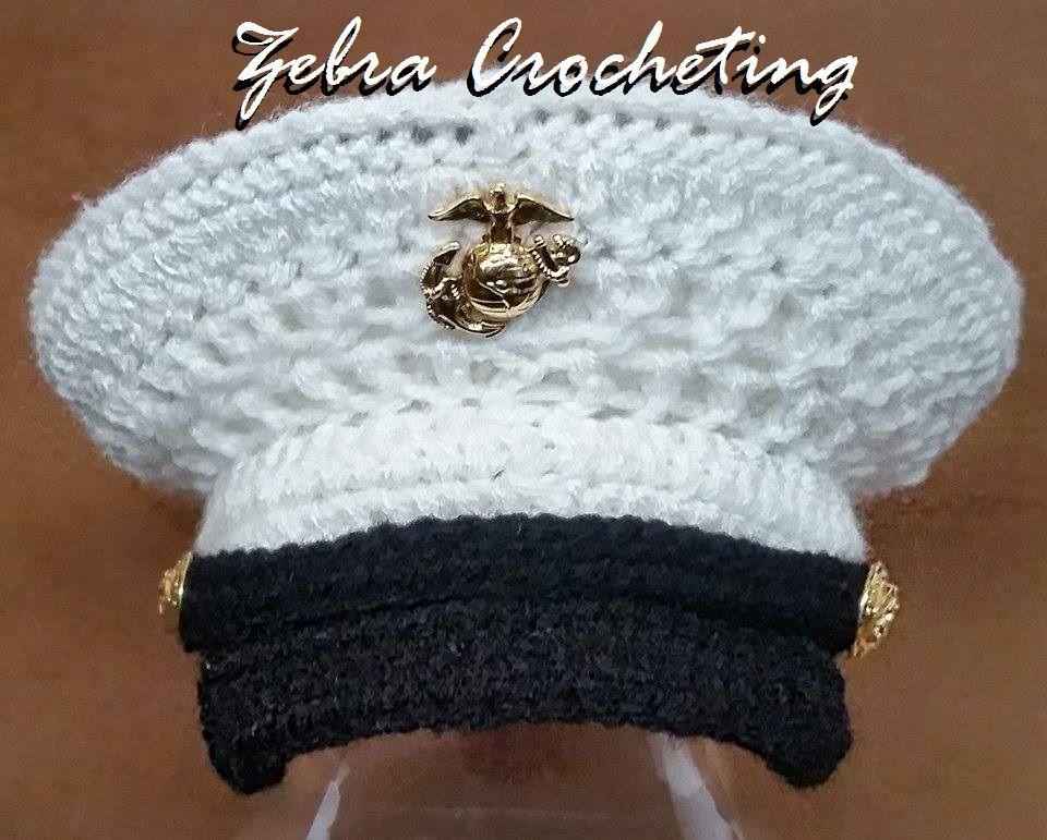 Crochet Me Lovely Newborn Marine Corps Cover Baby Kids