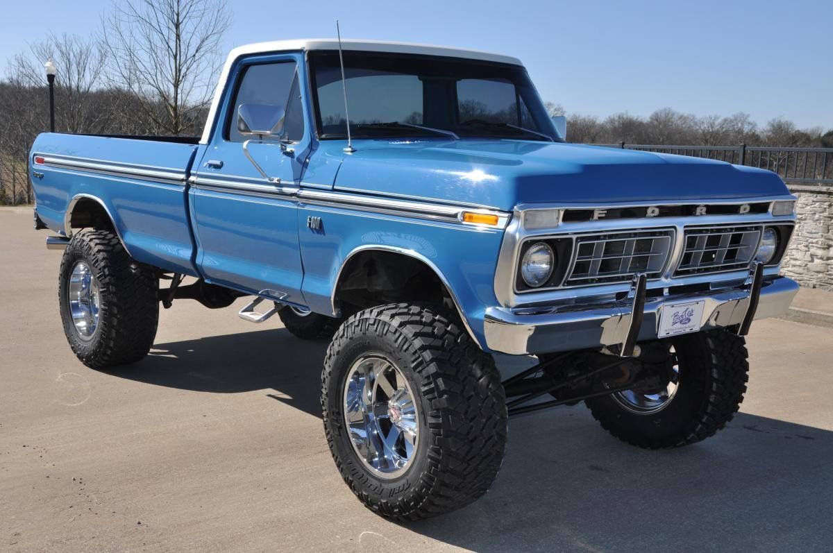 My Favorite Color Classic Ford Trucks 79 Ford Truck Ford