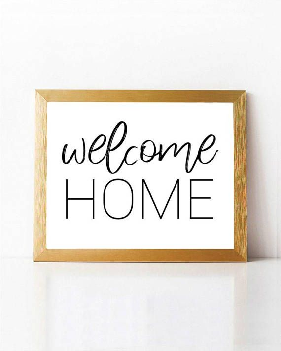 Wall Decor Signs For Home Delectable Welcome Sign Welcome Wall Artentrance Welcome Signwelcome Home Inspiration