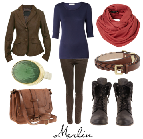 Merlin outfit
