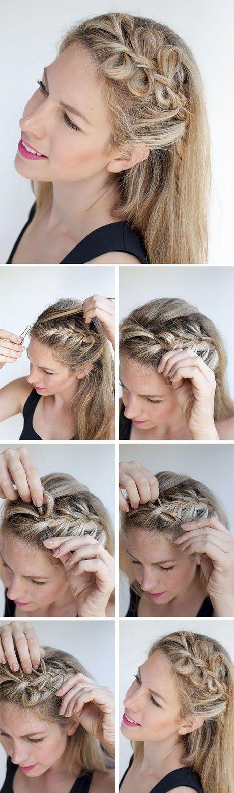 5 minuten frisuren für schulterlanges haar - frisuren