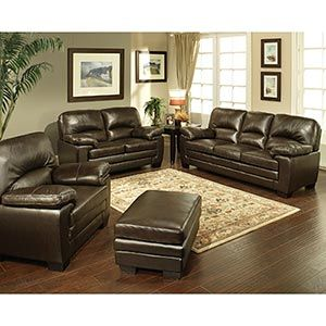 Costco leather living room set 3 living room in 2019 - Costco leather living room furniture ...