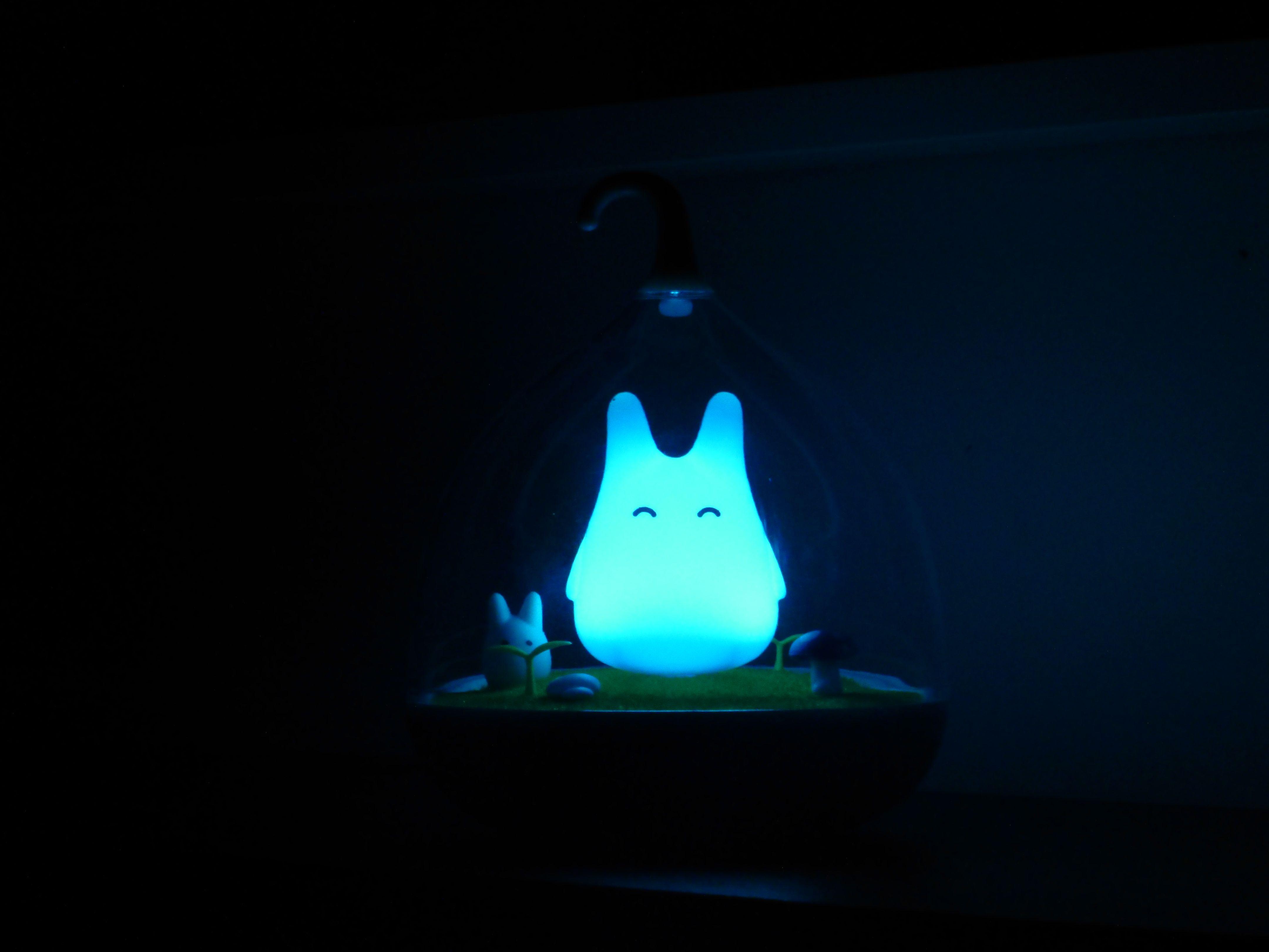 Totoro Lampe Totoro Lamper Barnerom