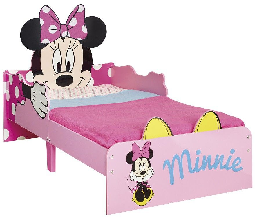 lit enfant minnie 70x140 id al pour les enfants de 18. Black Bedroom Furniture Sets. Home Design Ideas