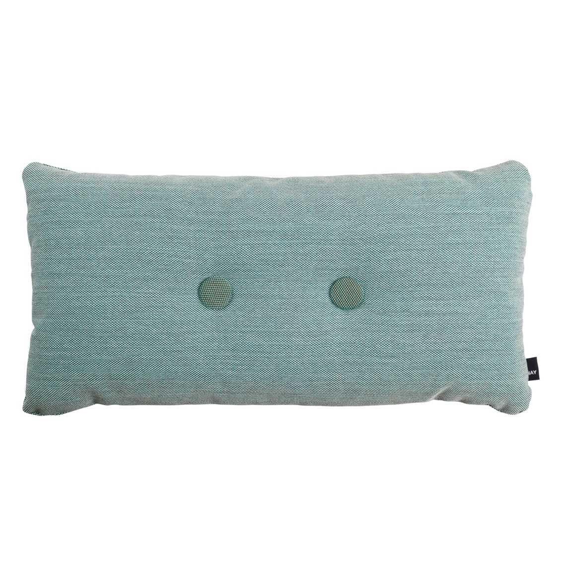 hay dot cushion 2 knopen steelcut trio kussen