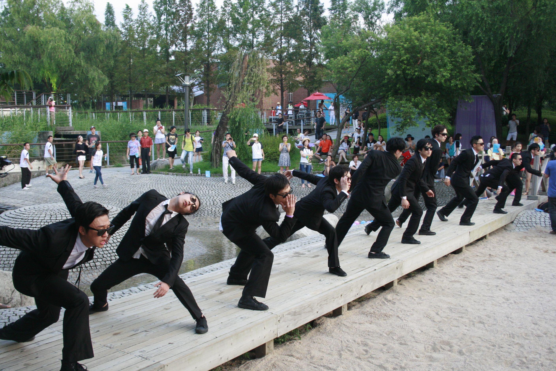 2013-8-17 <서울댄스프로젝트> '춤야유회@선유도공원'