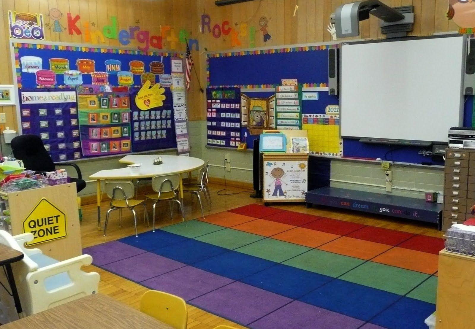 Preschool Classroom Set Up My Math Suppliesare Already