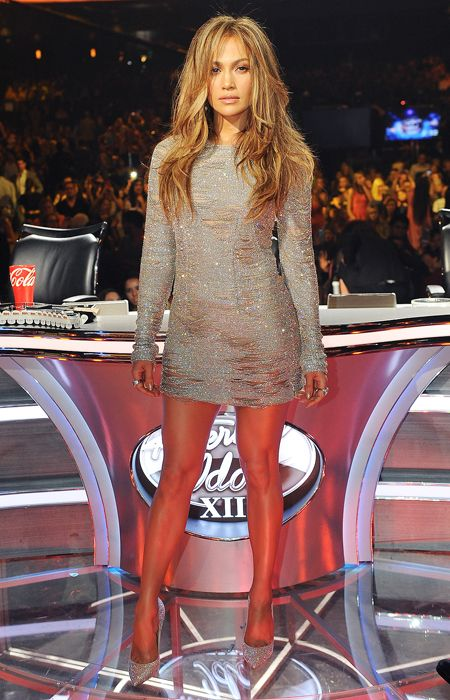 Jennifer Lopez's Head-to-Toe Looks From American Idol - May 21, 2014 from #InStyle