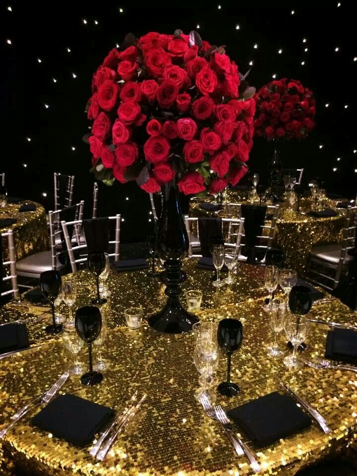 Hollywood Theme Wedding Themes Gold Party Wedding Decorations