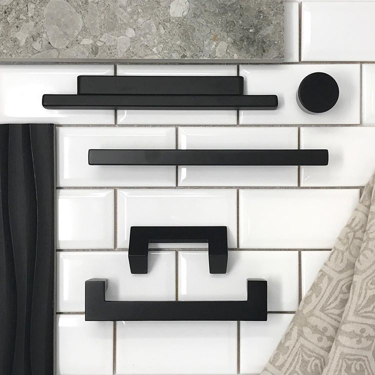 A Matte Black Kitchen Makes A Bold Statement In This: We Are LOVING The Mix & Match Styles Featured By Atlas