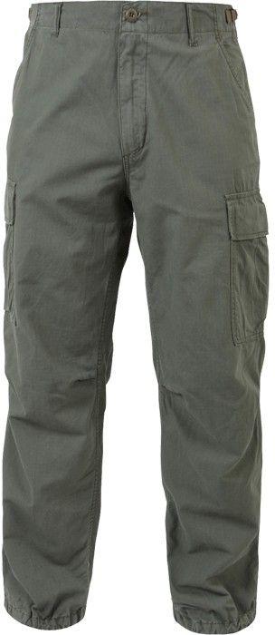 50c086b695 Olive Drab Rip-Stop Vintage Vietnam Military Paratrooper BDU Pants   4387    $32.99
