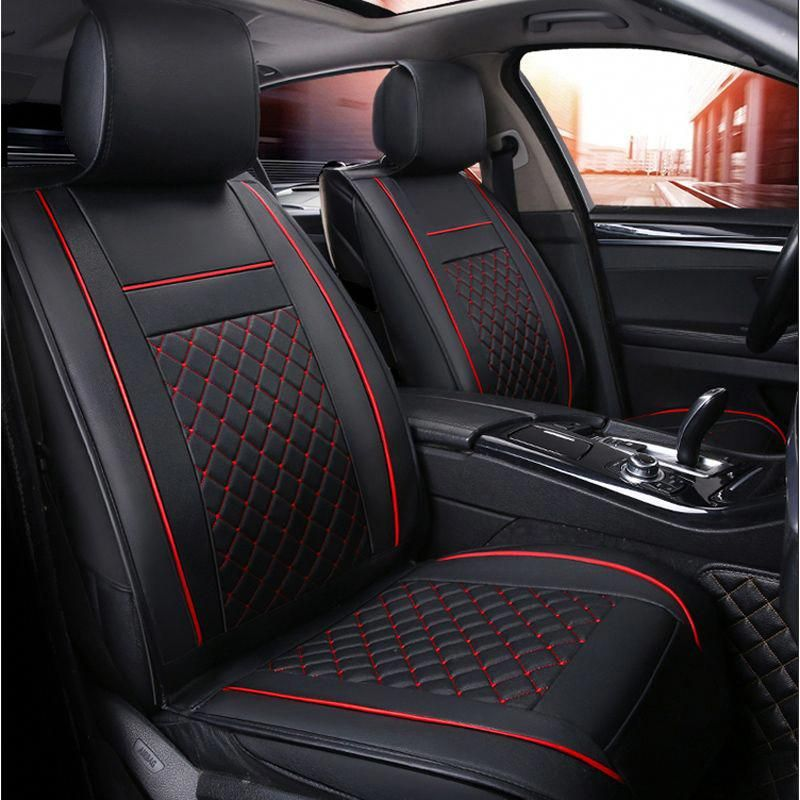 VW Passat Full Set Luxury Padded Leather Look Car Seat Covers