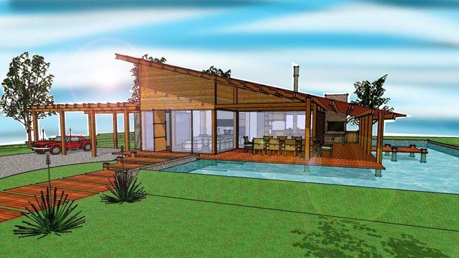 Casa de campo pequena com piscina pesquisa google proyectos que debo intentar pinterest - Piscinas casa de campo ...