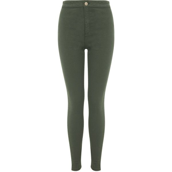Khaki skinny jeans miss selfridge