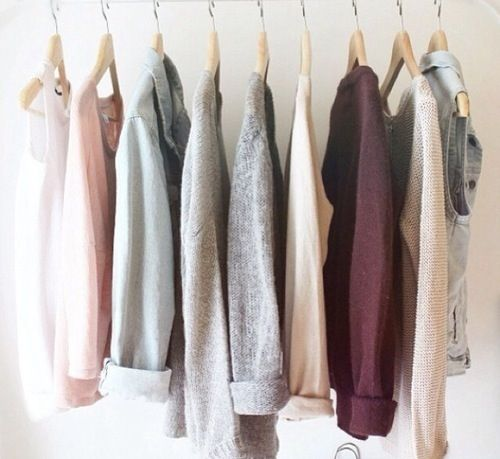 Light pink and grey shades for springtime