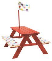 Table De Pique Nique Rouge Avec Coussins Webshop Table De Pique Nique Jeux Exterieur Mobilier De Salon