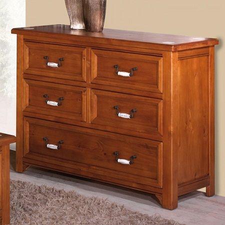 C modas de madera r sticas y perfectas para tu habitaci n muebles decora ilumina c modas - Decorar habitacion rustica ...