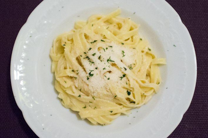 Tagliatelles au beurre de homard
