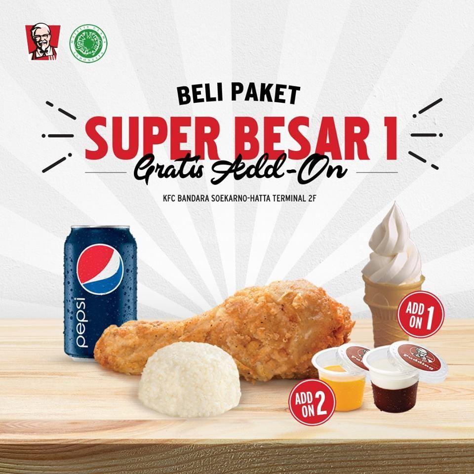 KFC Promo Beli Paket Super Besar 1 Dapet Puding atau Es ...