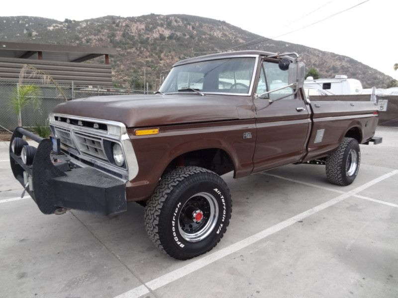 1972 F 250 High Boy Classic Ford Trucks Ford Trucks Ford 4x4