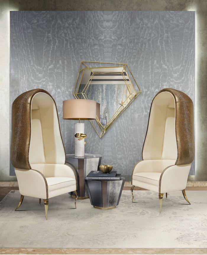 ▷ 1001 + Ideen für Wohnzimmer Wandfarbe 2018 Wandgestaltung Ideen - Wohnzimmer Design Wandfarbe Grau