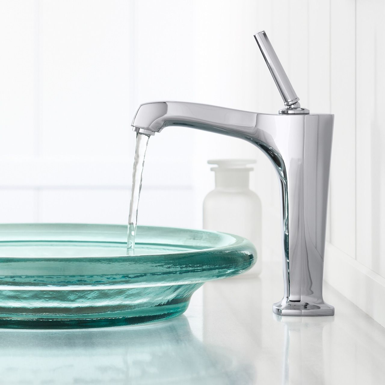 Bring minimalist style to your bathroom with this Margaux sink ...