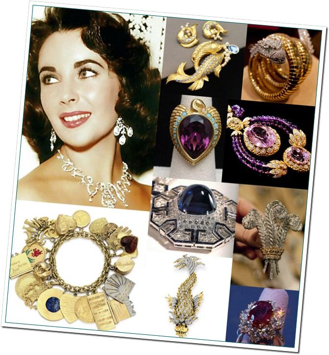 Image result for elizabeth taylor jewelry