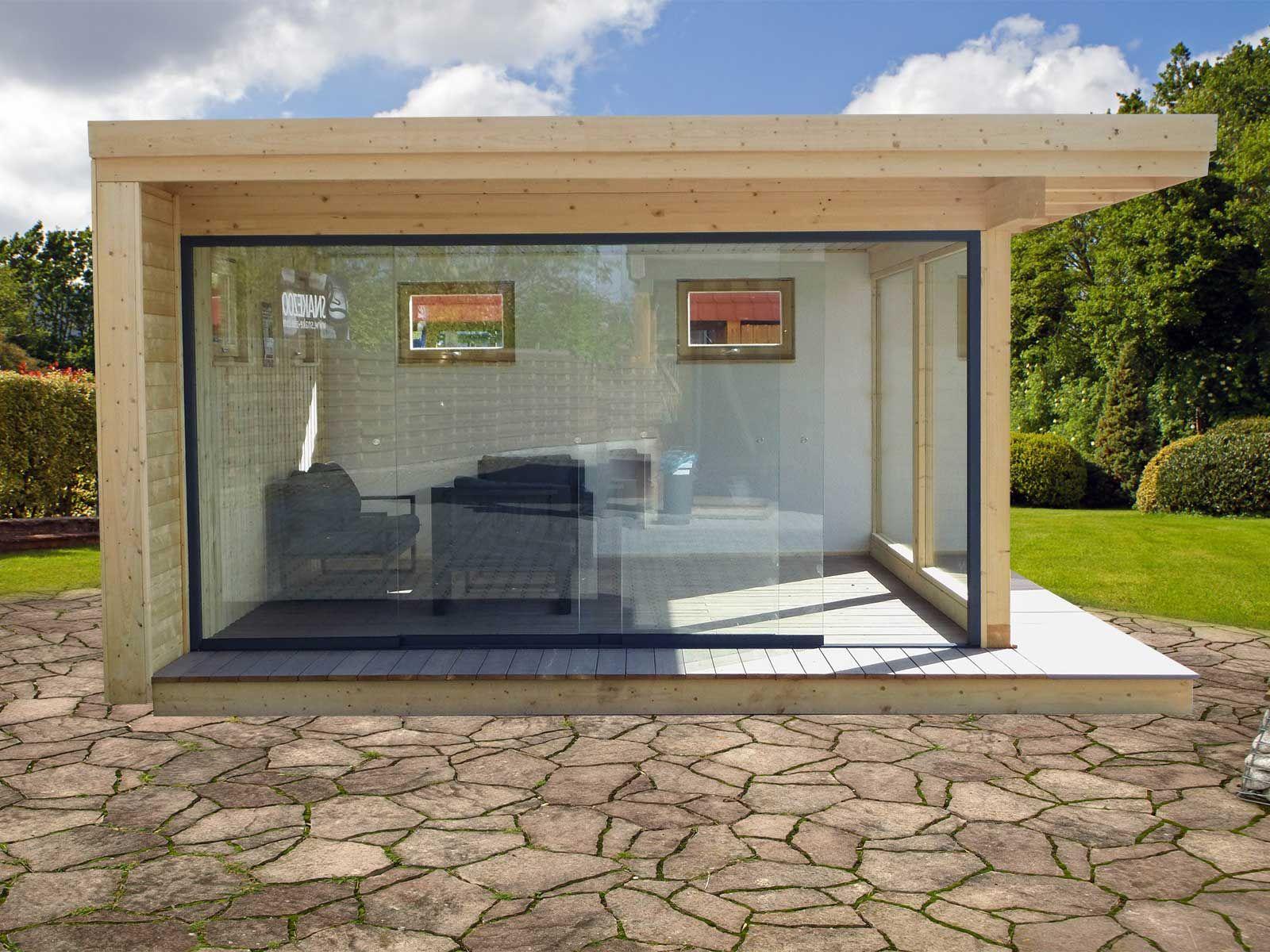 Premium Luxushaus 500 x 500 cm, NEUHEIT Konstruktion aus