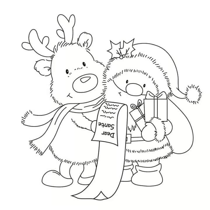 Pin by Nanxhie on Christmas | Christmas coloring pages ...