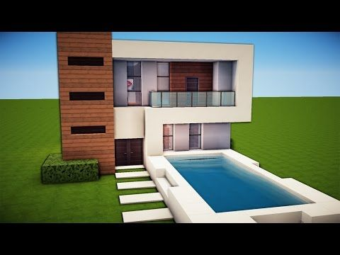 Related Image Minecraft Small Modern House Modern Minecraft Houses Minecraft House Designs