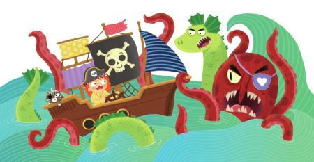 Louise Forshaw - Pirate Ship Monsters