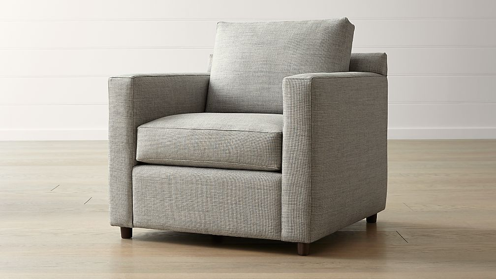 Barrett Grey Track Arm Chair Reviews Crate And Barrel Track
