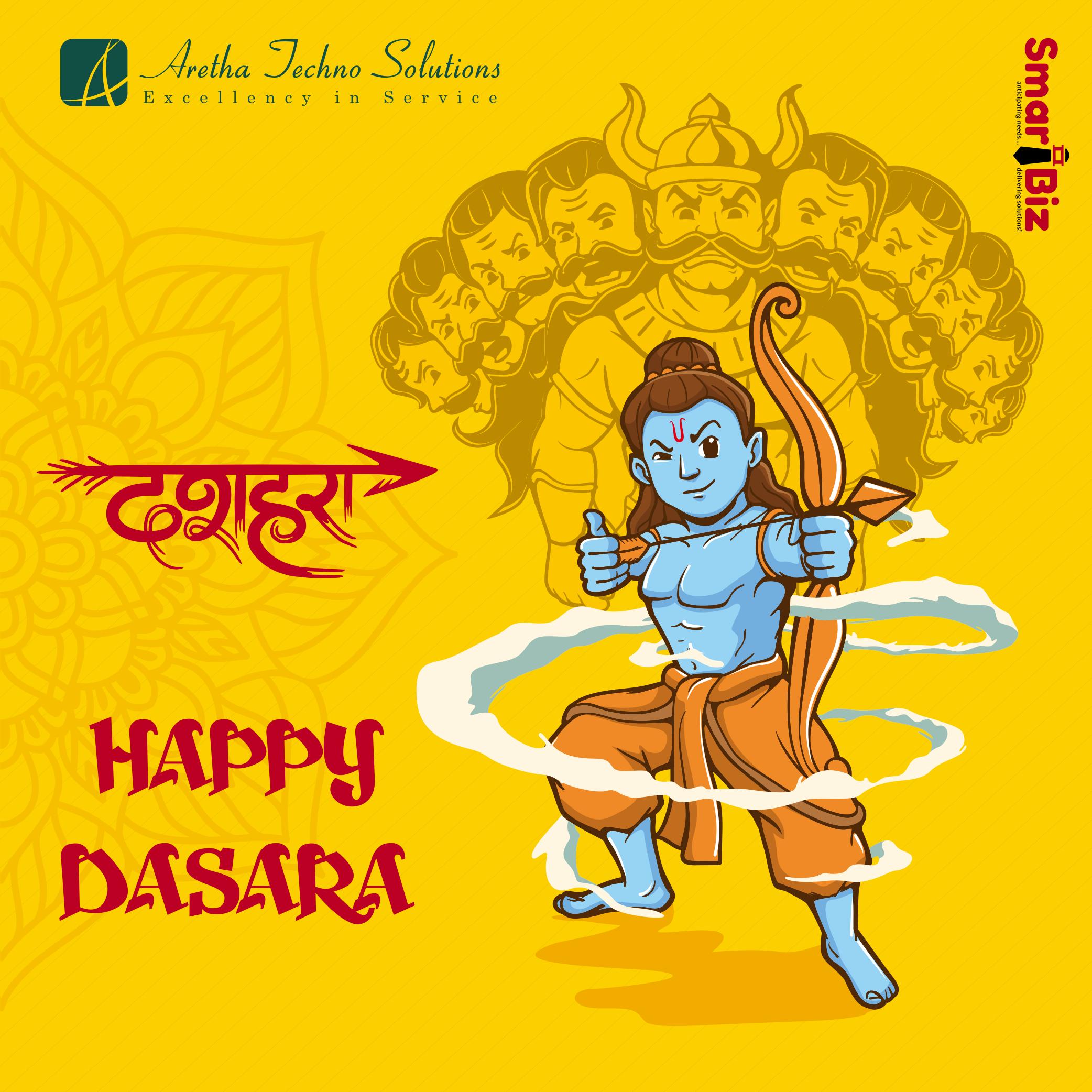 On this occasion of Dasara may god Durga blessings bring