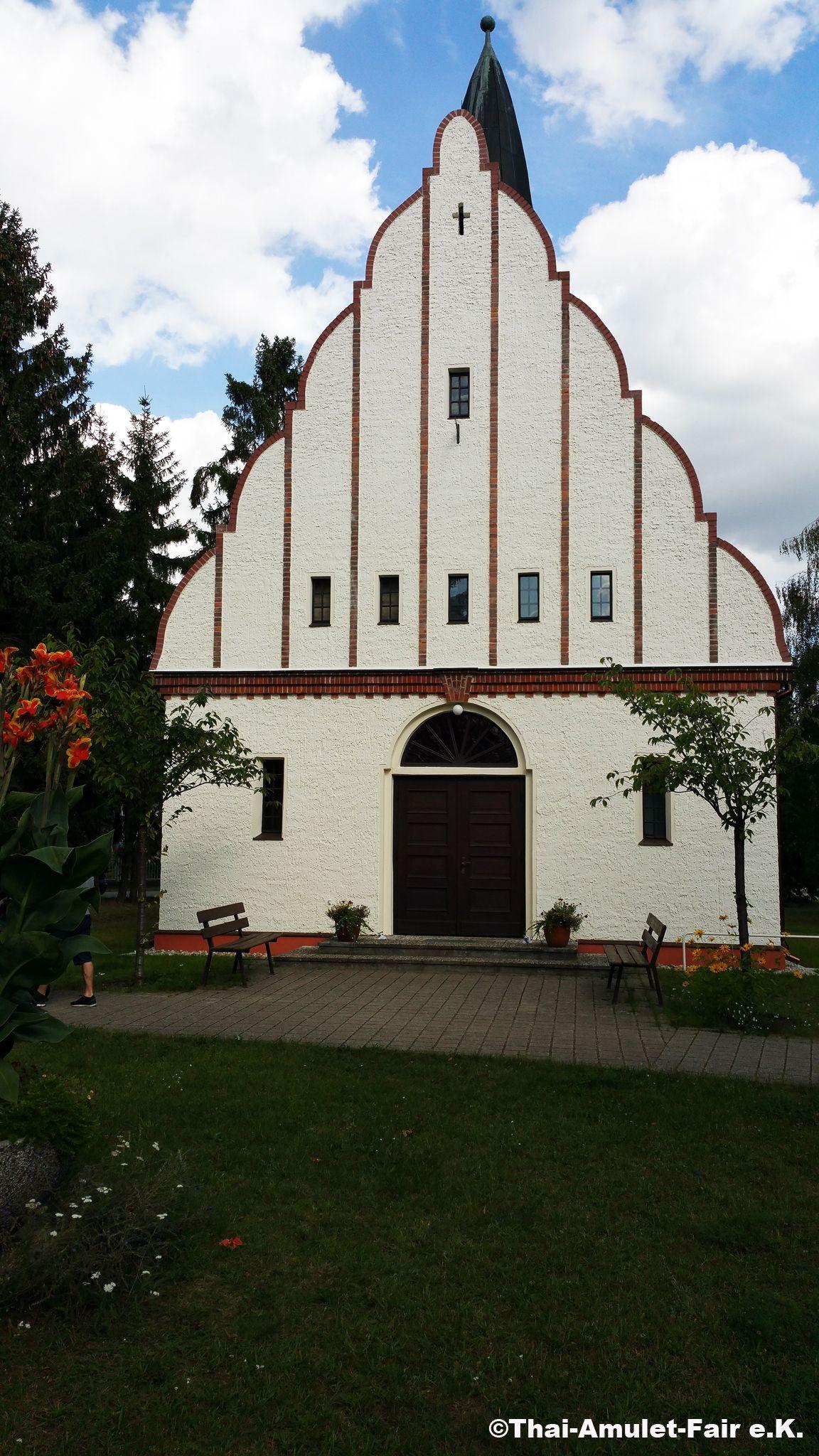 Bad Sarrow, Kirche, Eingang #Bad #Sarrow #Kirche #Brandenburg #Deutschland