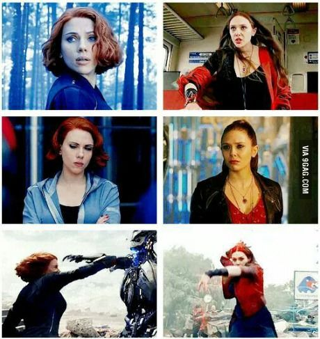 Black Widow And Scarlet Witch Who Will You Choose Black Widow Movie Scarlett Witch Scarlet Witch