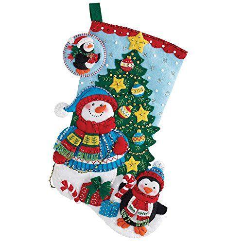 Bucilla 18-Inch Christmas Stocking Felt Applique Kit, 866... https://www.amazon.com/dp/B01A5W0B5G/ref=cm_sw_r_pi_dp_x_JK8cybZ8XCCNR