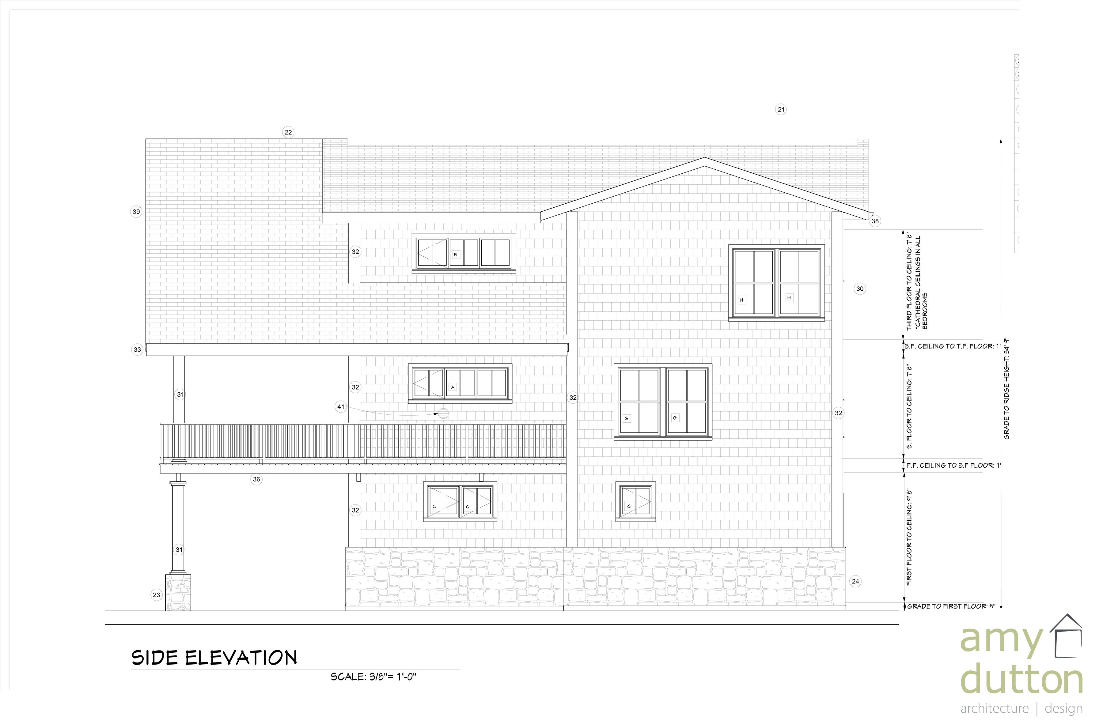 Beach House Right Side View Floor Plans How To Plan Beach House