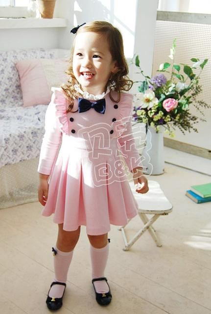 df565595d3bc9 Top Girls Toddler Party Dress Tutu Skirt Long Sleeve 1-6Y Party Clothes |  eBay