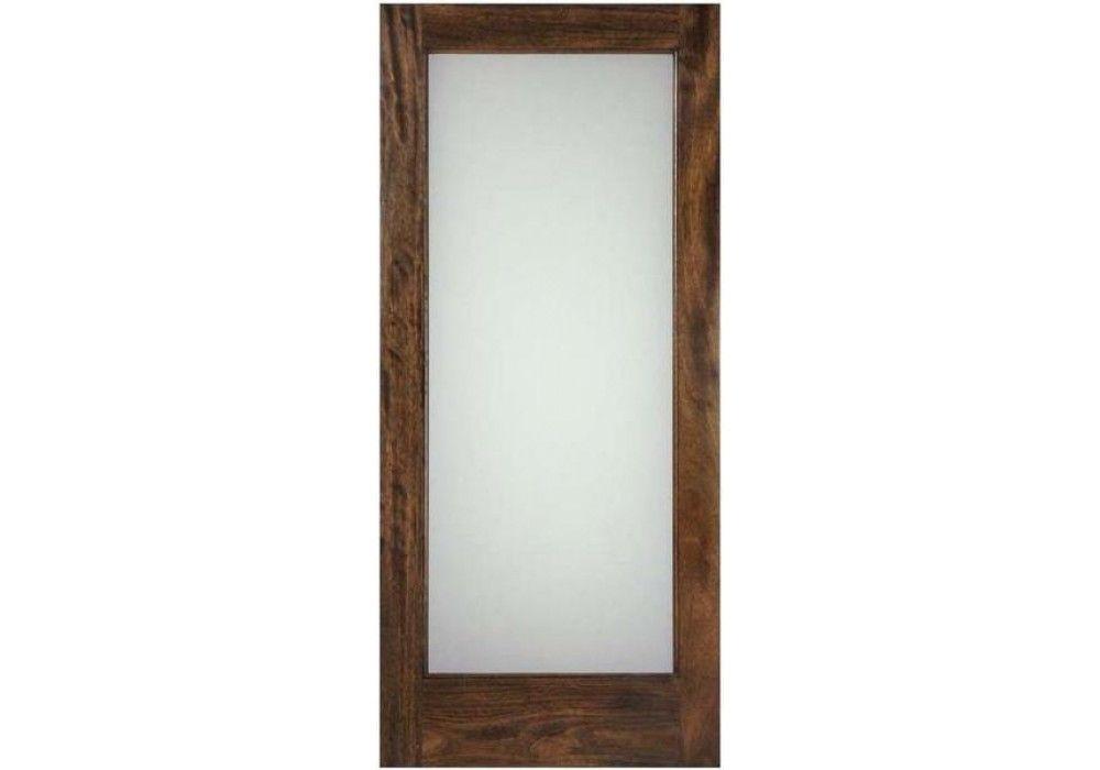 Fd1llami Mahogany 1 Lite Door With White Lami Glass 1 3 4 Doors Interior Laminated Glass Solid Wood Interior Door