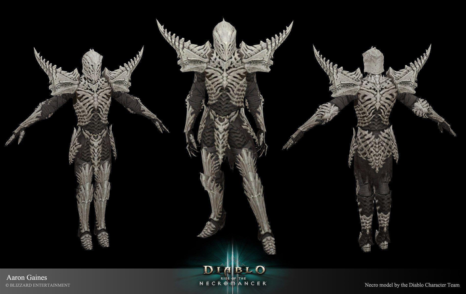 Artstation Diablo 3 Rise Of The Necromancer Art Aaron Gaines