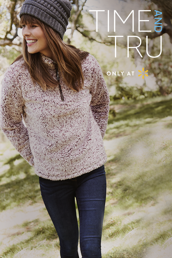 e7a6a62a5 Stay warm and cozy with new pieces from Time and Tru's fall fashion ...