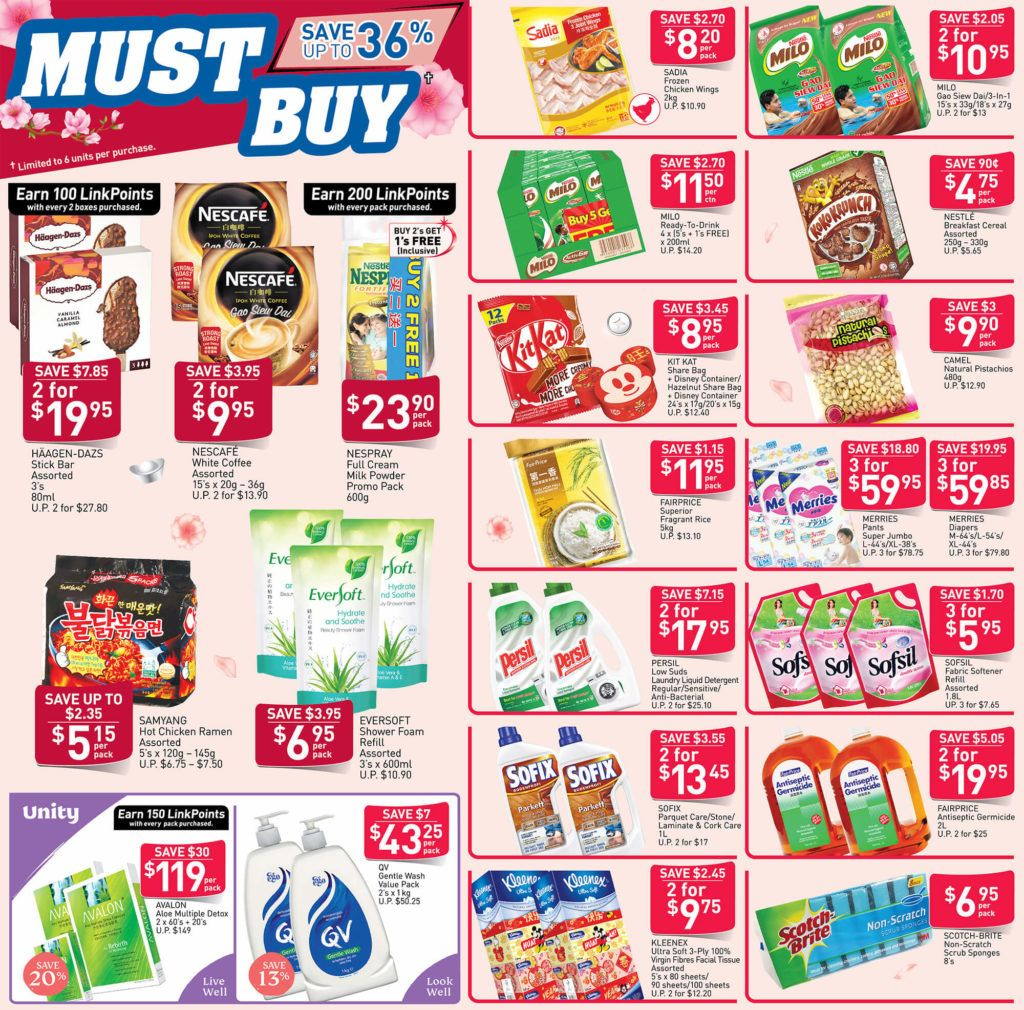 Ntuc Fairprice Sg Your Weekly Saver Promotions 9 15 Jan 2020 Di 2020