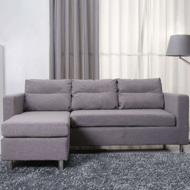 Detroit Convertible Sectional Sofa and Ottoman Decor Pinterest - couch fur kleine wohnzimmer