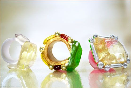Candy Rings. Artesanal Sweets