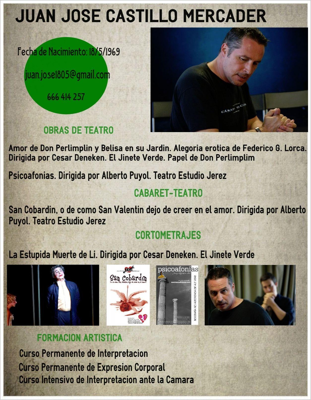 Curriculum #actor #infografia | Curricula creativos | Pinterest