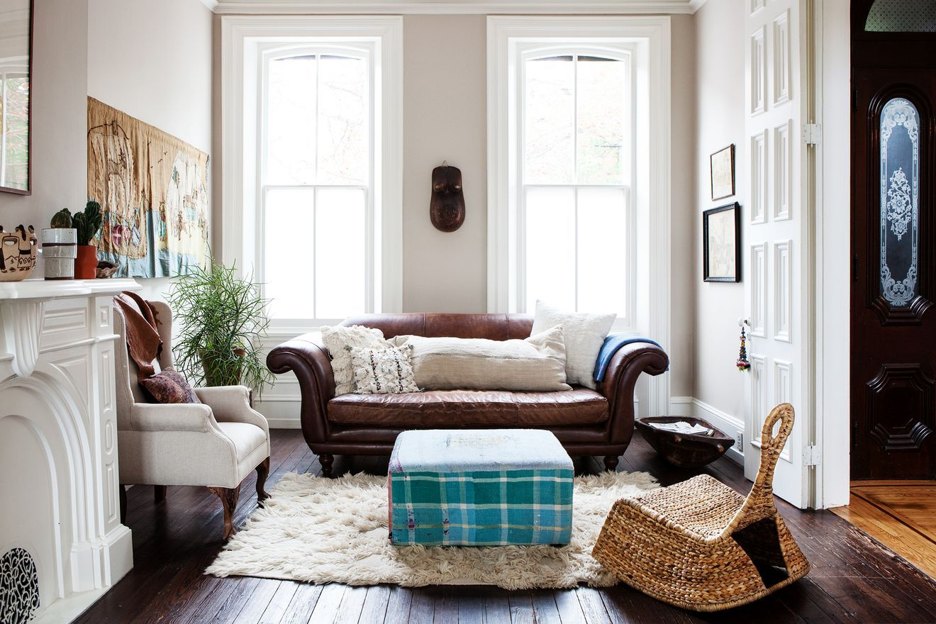 Classic Philadelphia Row House Is Family's Love Match ...