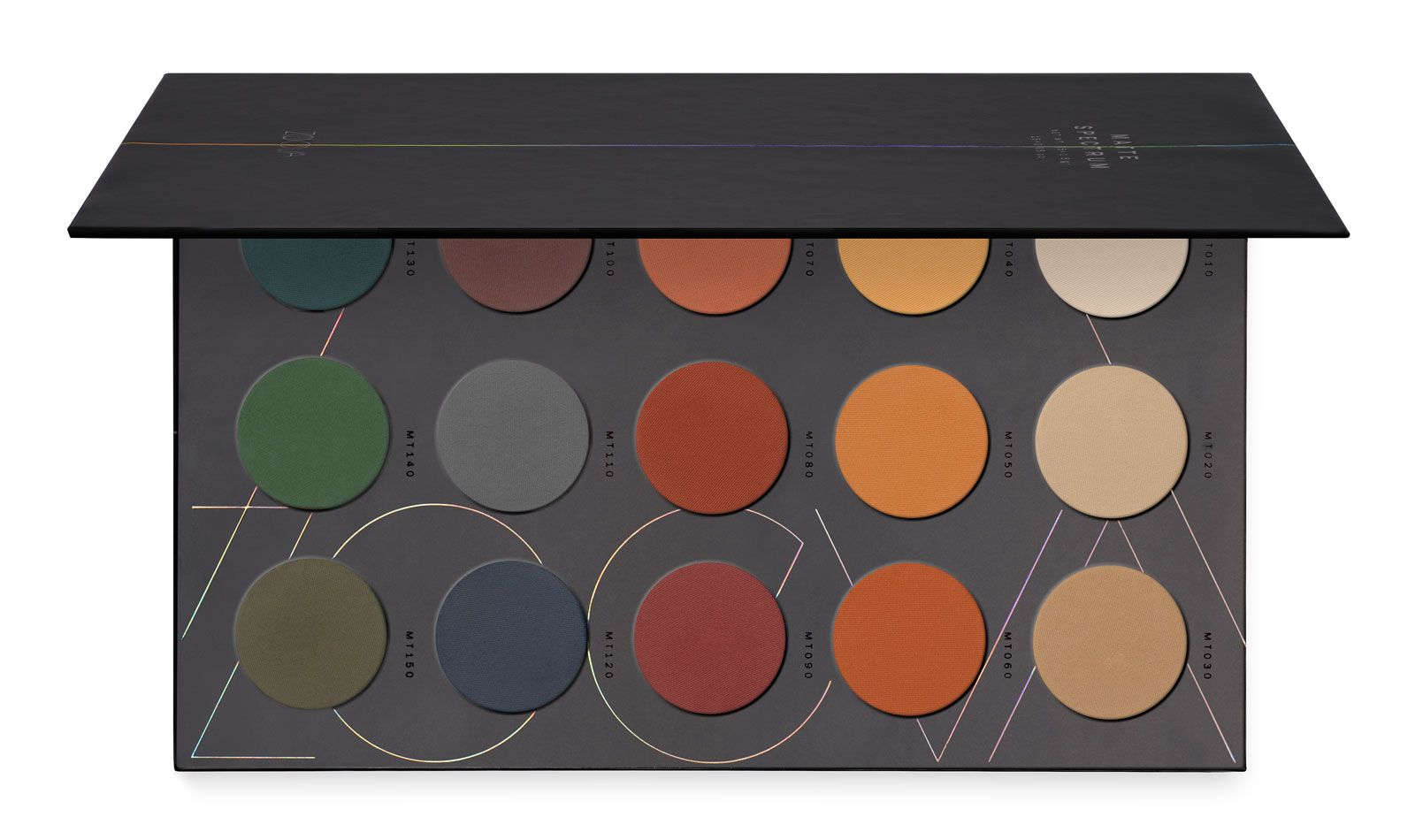 ZOEVA Eyeshadow Palette with 15 highly pigmented, colorful matte shades | All shades | Order online! #ZOEVA
