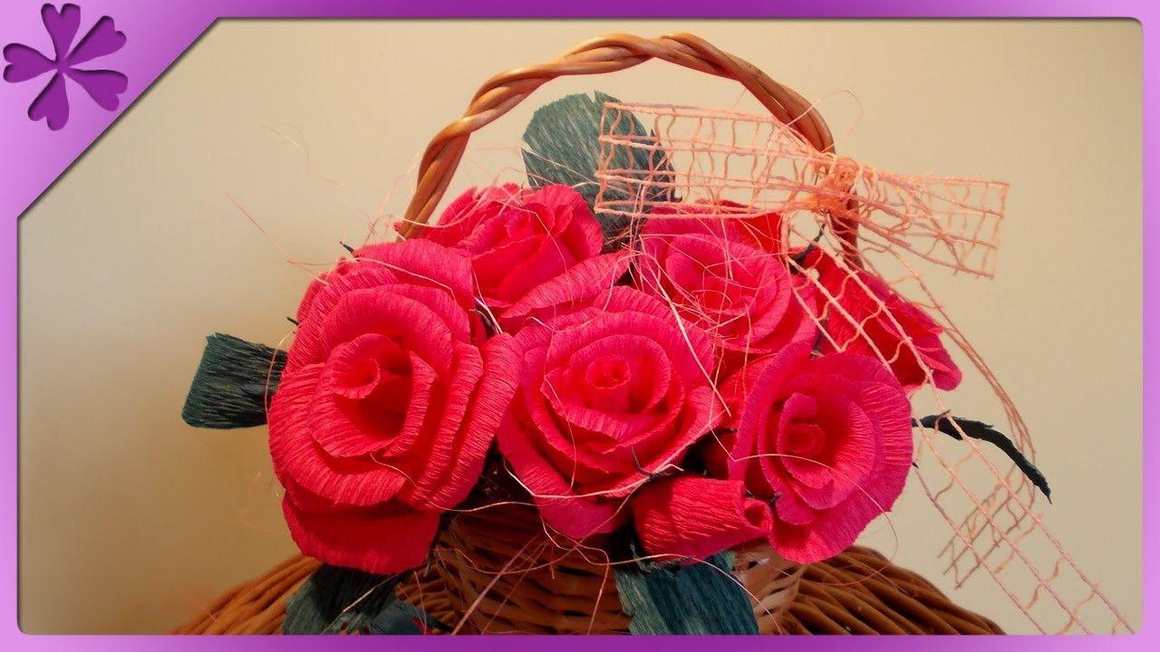 Diy Re Z Bibuy Tissue Paper Roses Eng Annotations Na Szybko